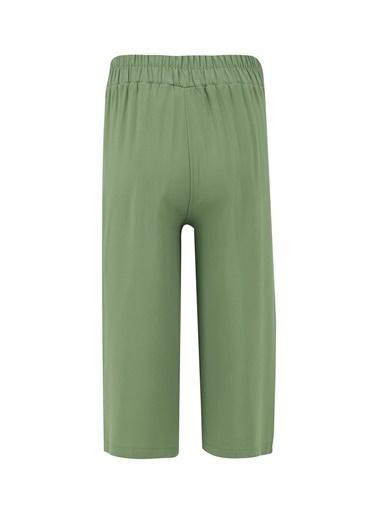 DeFacto Kız Çocuk Culotte Pantolon Yeşil